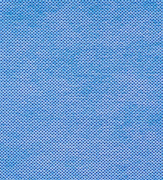 grid texture blue cloth (xxxl) - nylon texture stock pictures, royalty-free photos & images