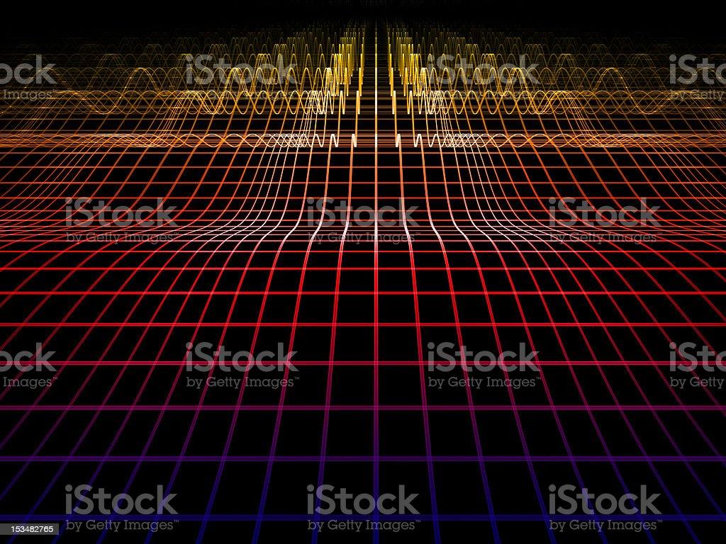 Grid World royalty-free stock photo