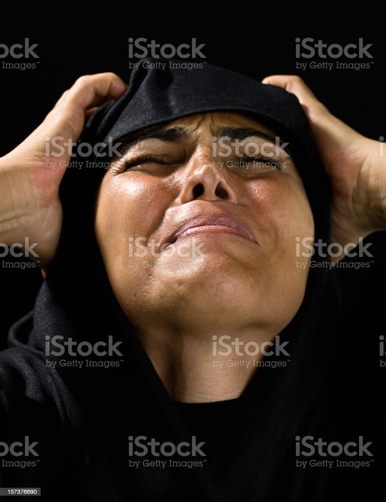 Grief royalty-free stock photo