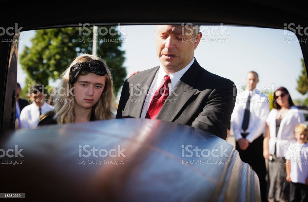 Grieving Man royalty-free stock photo