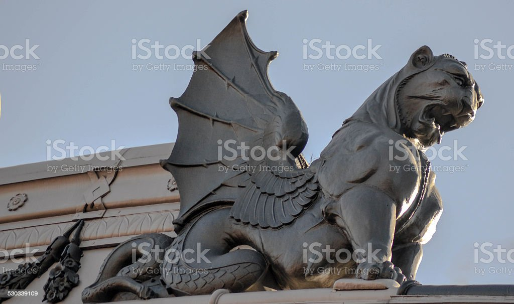 Griffin stock photo