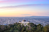 istock Griffith Observatory and Los Angeles at sunrise 1201553239