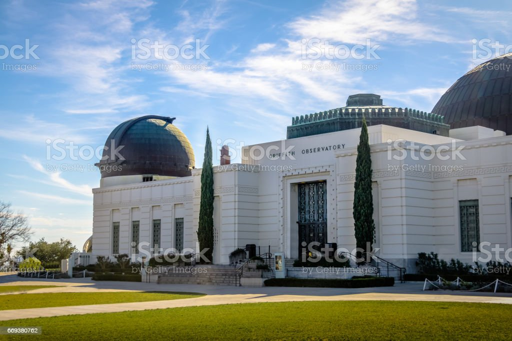 Griffith Observatory - Los Angeles, California, USA stock photo