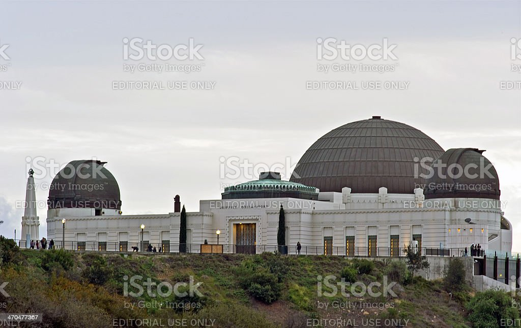 Griffith Observatory royalty-free stock photo