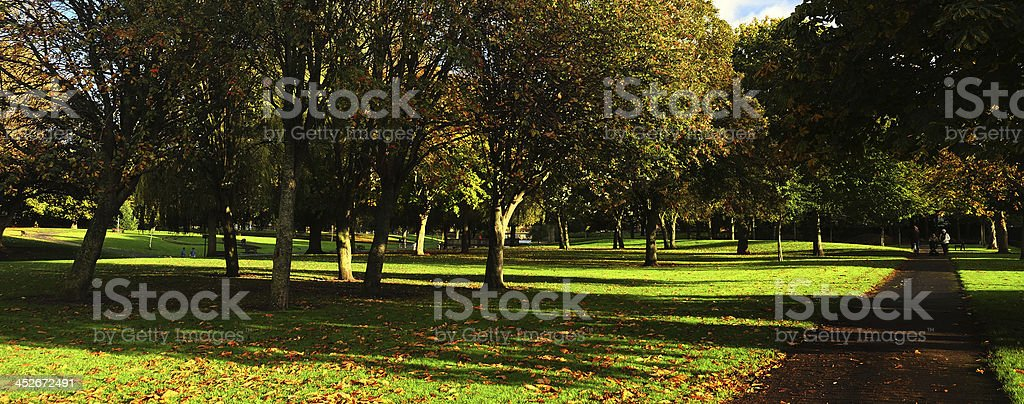 Griffith Park, Glasnevin, Dublin, Republic of Ireland stock photo