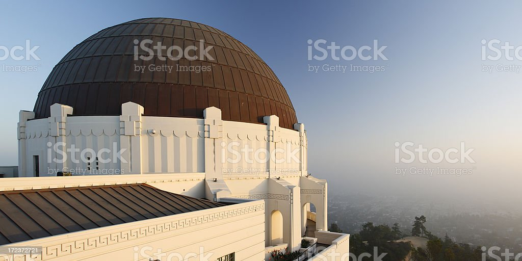 Griffith Park  Observatory royalty-free stock photo