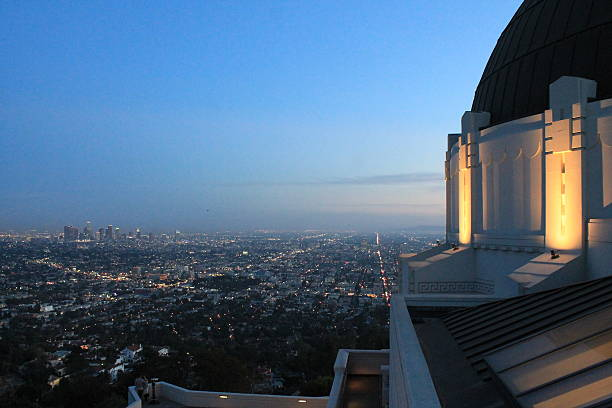 Griffith Griffith Observatory sunset boulevard los angeles stock pictures, royalty-free photos & images