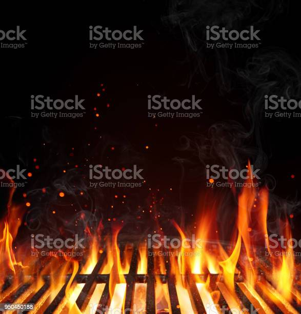 Grill barbecue background empty grate with flames on black picture id950450188?b=1&k=6&m=950450188&s=612x612&h=yr1dixisksnnpq1 g4idomo rydfo8bbsudjb fpl0e=