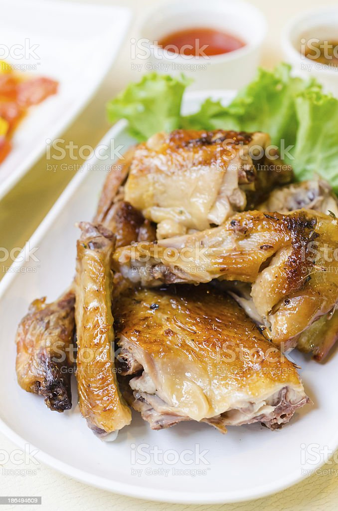 Grill chicken royalty-free stock photo