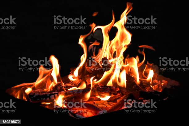 Photo of Grill flame