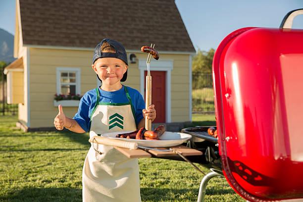 grill sargeant - kindergrill stock-fotos und bilder