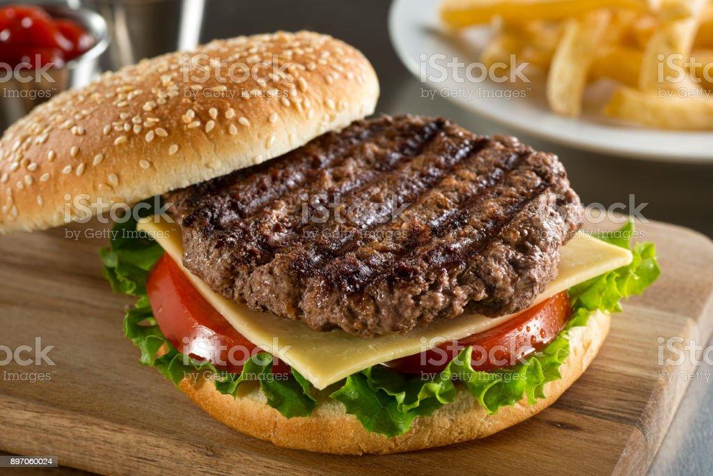 Grelhados Angus Burger - foto de acervo