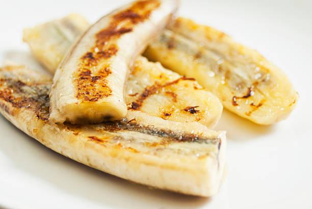 Banana grelhado - foto de acervo