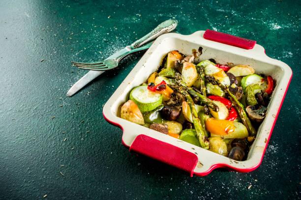 Grill-BHQ-Gemüse – Foto