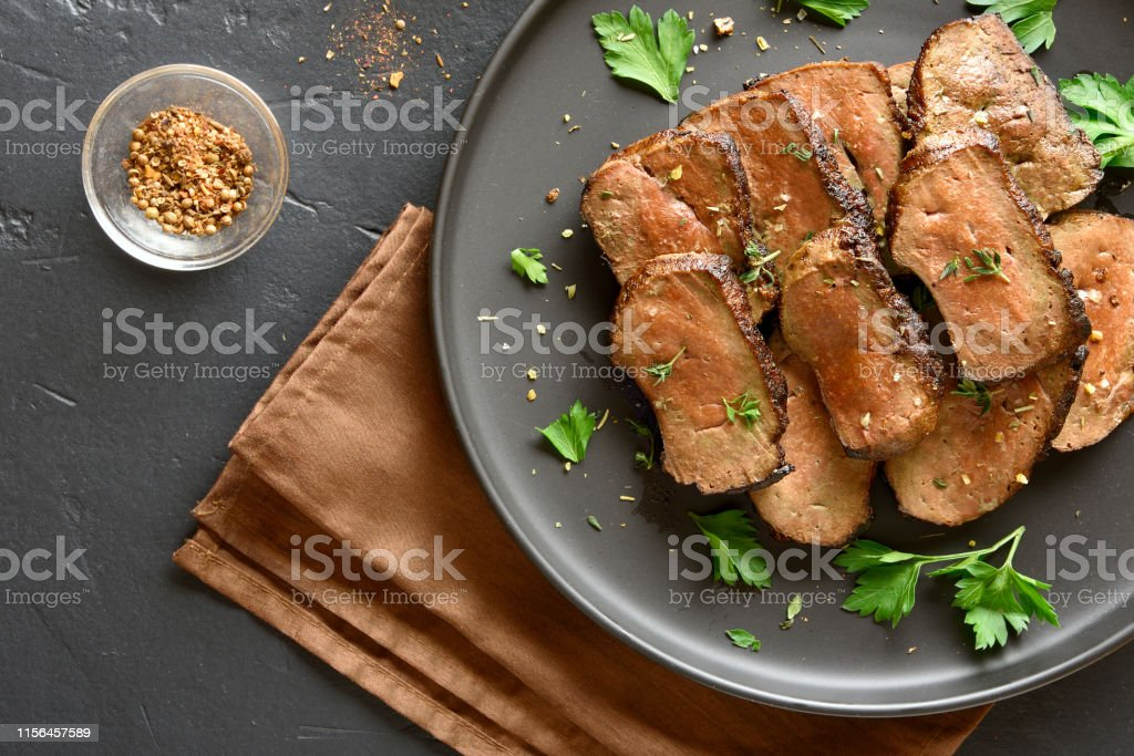 Grilled Beef Liver Stock Photo Download Image Now Istock