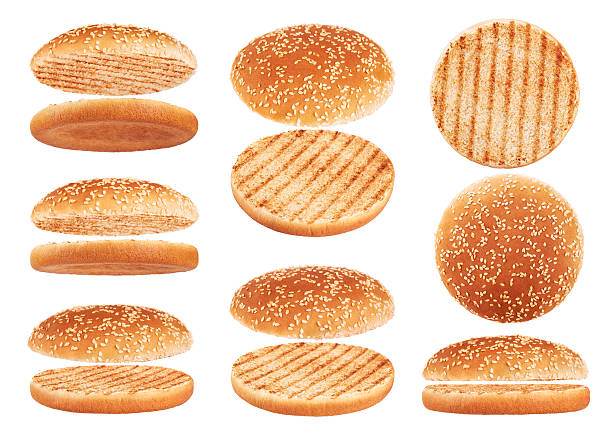 royalty free hamburger buns pictures images and stock photos istock. Black Bedroom Furniture Sets. Home Design Ideas