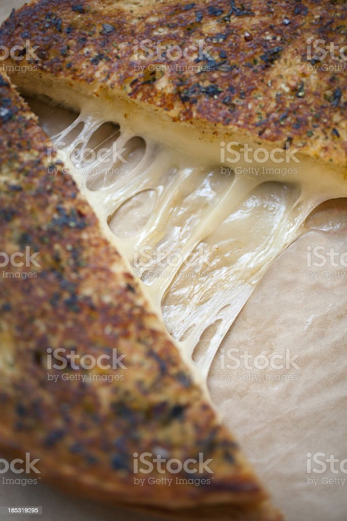 Grilled cheese stock photo