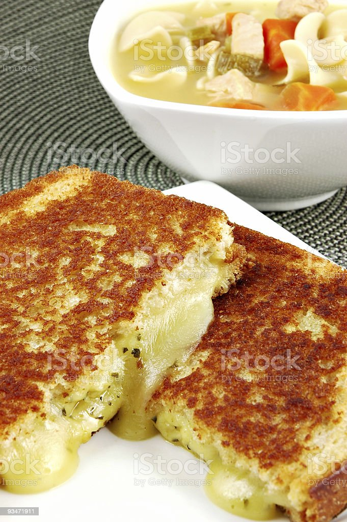Grilled Cheese royalty-free stock photo