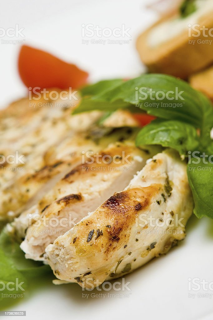 Grilled chicken breast Similar: Chicken Meat Stock Photo
