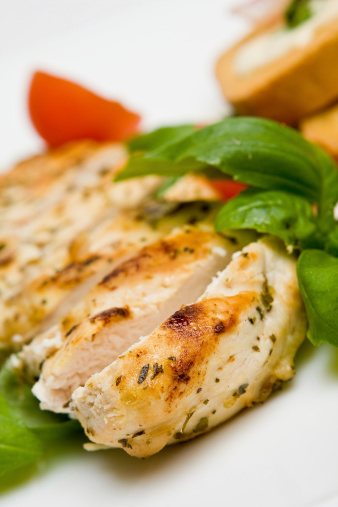 Grilled Chicken Breast Stock Photo - Download Image Now