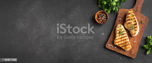 istock Grilled Chicken or Turkey Breast 1180827530