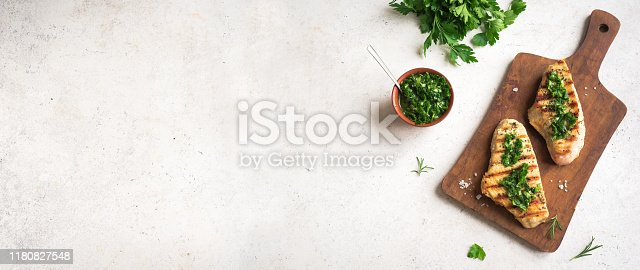 istock Grilled Chicken or Turkey Breast 1180827548