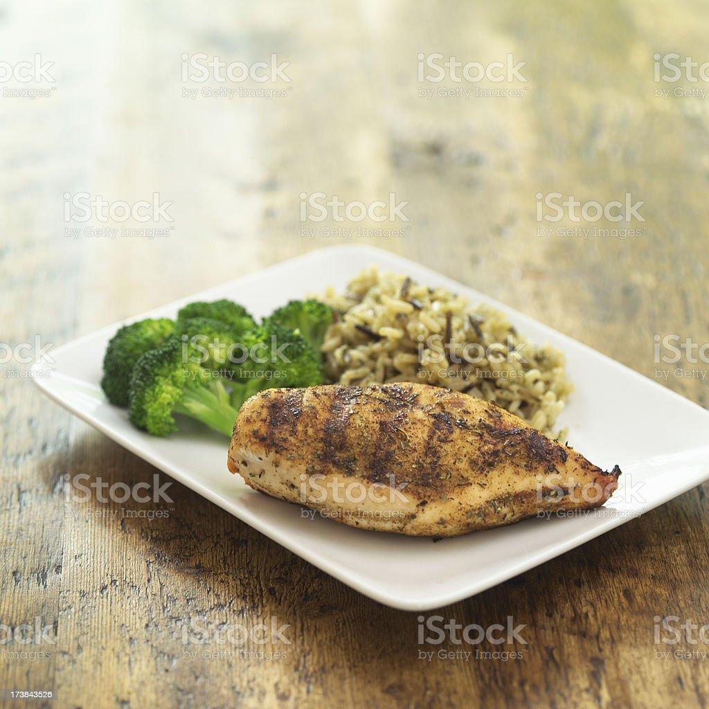 Pollo asado - foto de stock