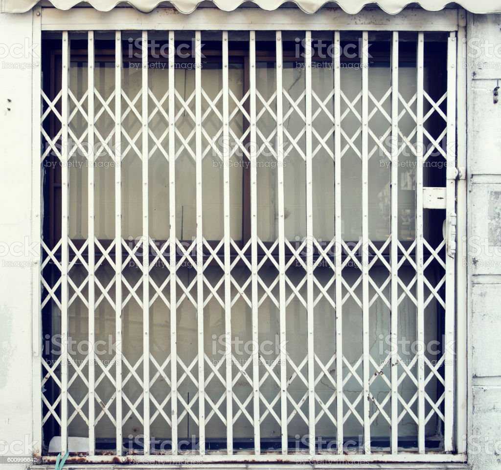 Grilled door protect any thing in house royalty-free stock photo & Grilled Door Protect Any Thing In House stock photo | iStock