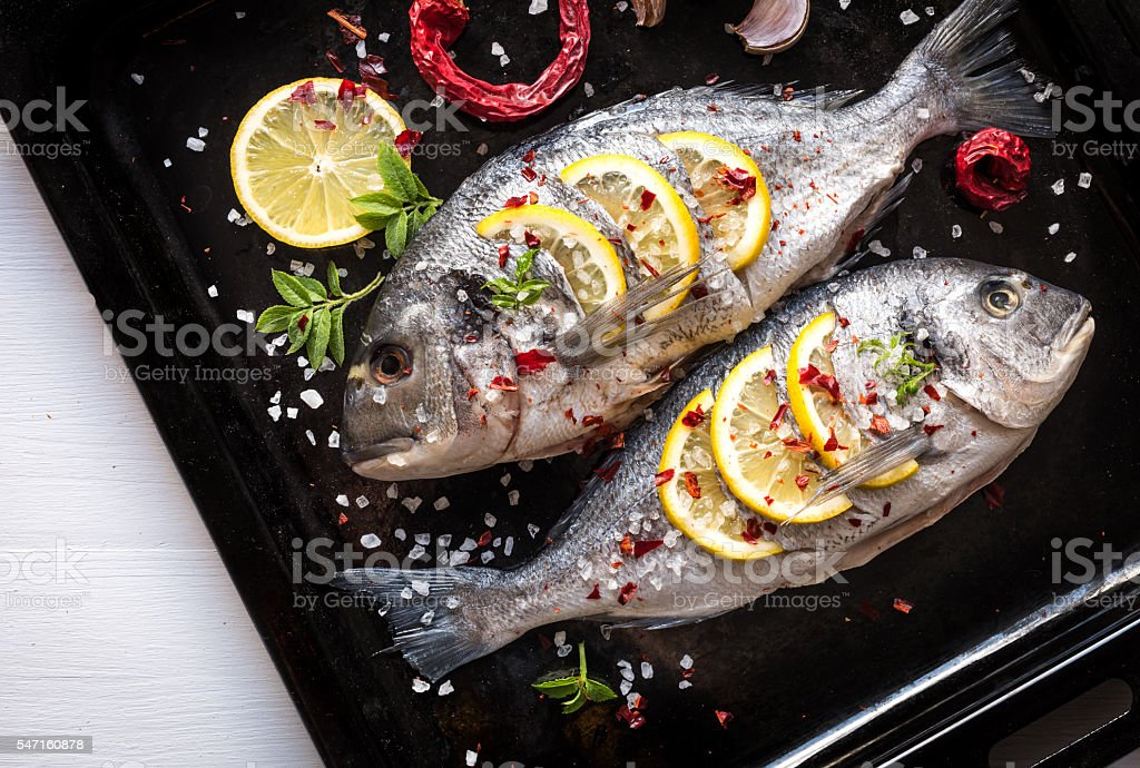 Grilled Dorado Fish Mediterranean Kitchen Stock Photo Download Image Now Istock