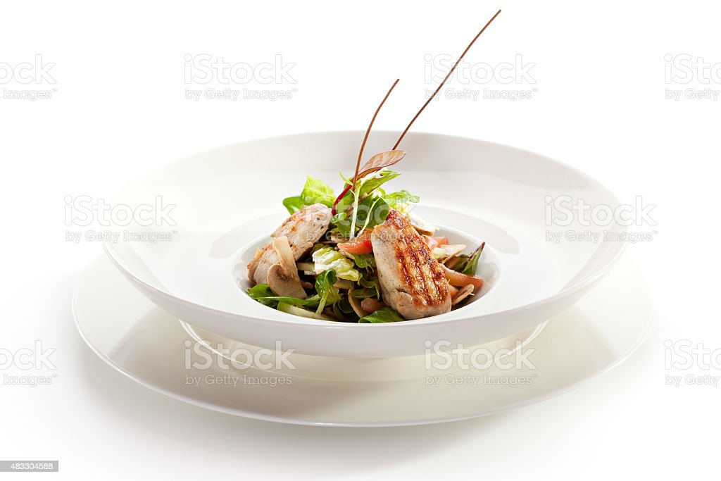 Grilled Food stock photo