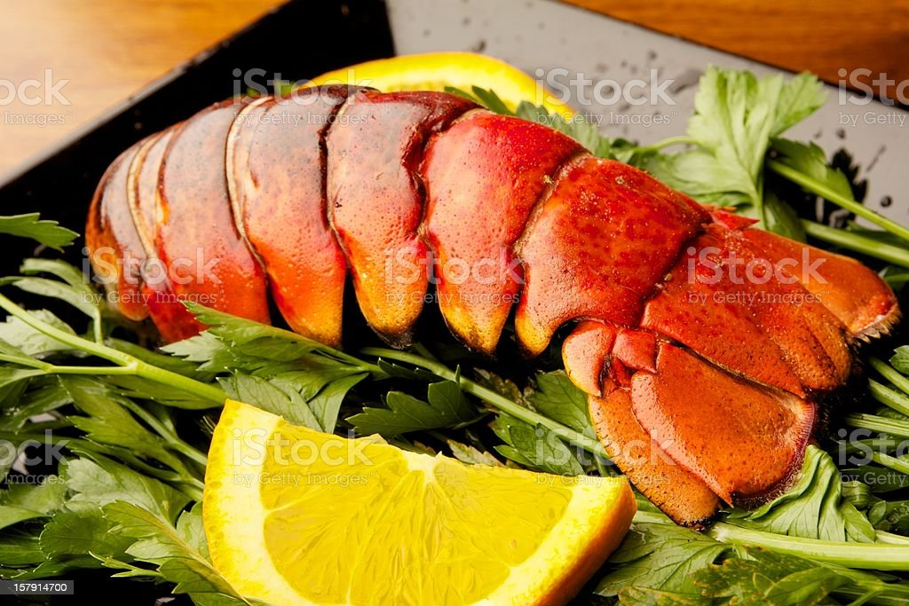 Grilled Lobster royalty-free stock photo