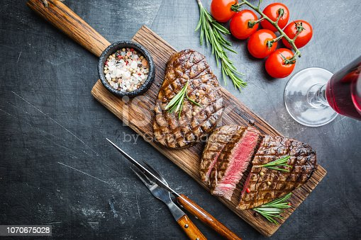 istock Grilled marbled meat steak 1070675028