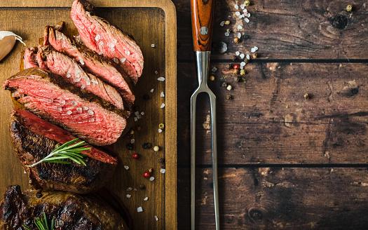 Marmoriertes Fleisch Vom Grill Steak Stockfoto und mehr Bilder von Banneranzeige