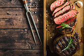 istock Grilled marbled meat steak 910859582