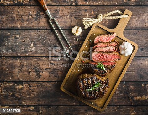 istock Grilled marbled meat steak 910859708