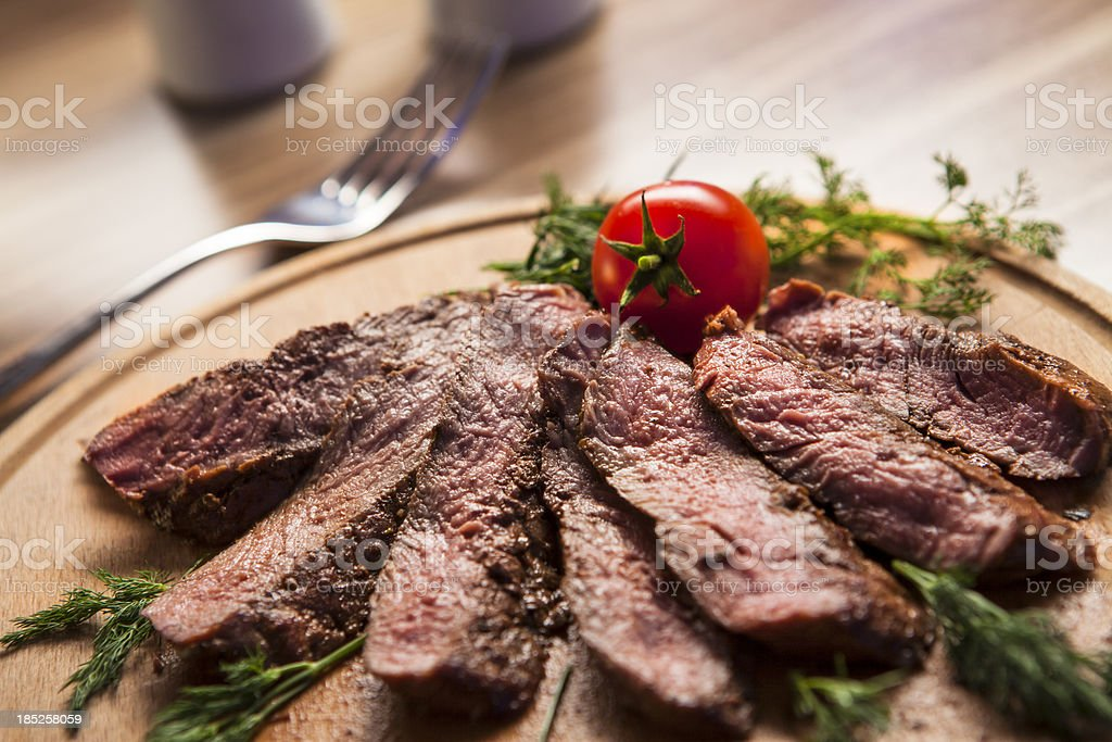 grilled meat royalty-free stock photo