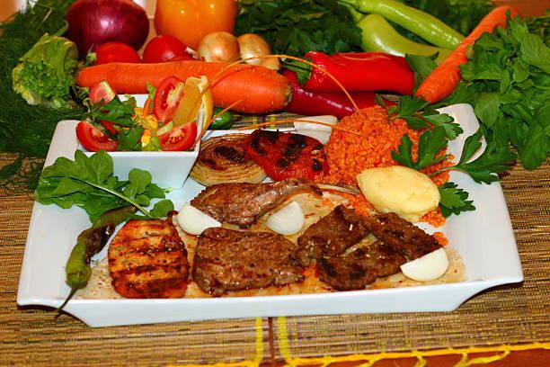Grilled Meat stok fotoğrafı