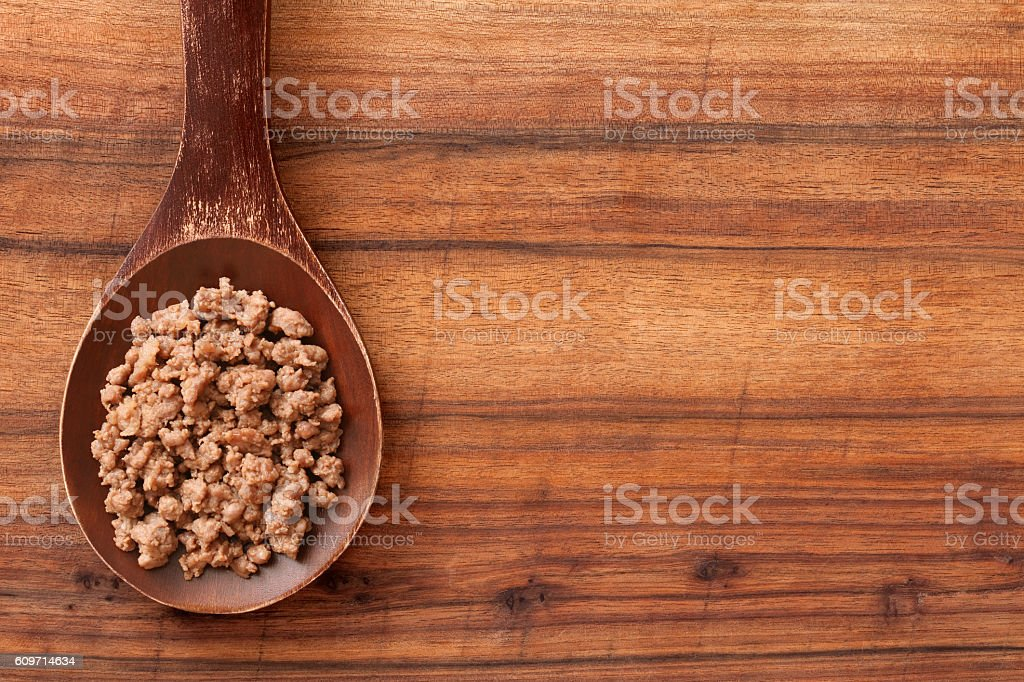 Grilled minced meat stock photo