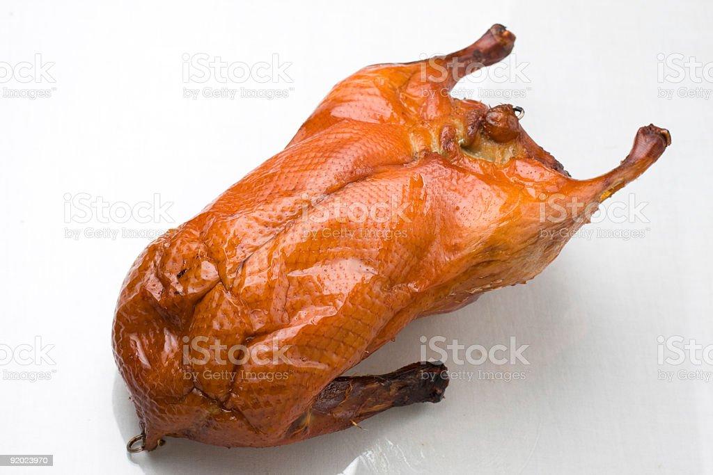 grilled Peking Duck stock photo