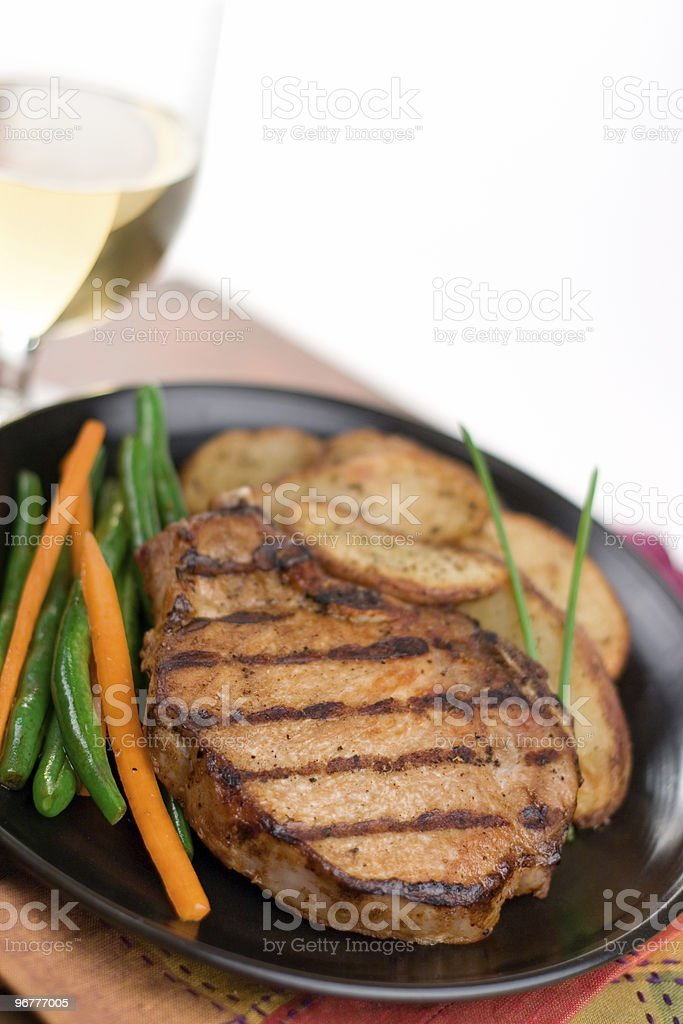 Grilled Pork royalty-free stock photo