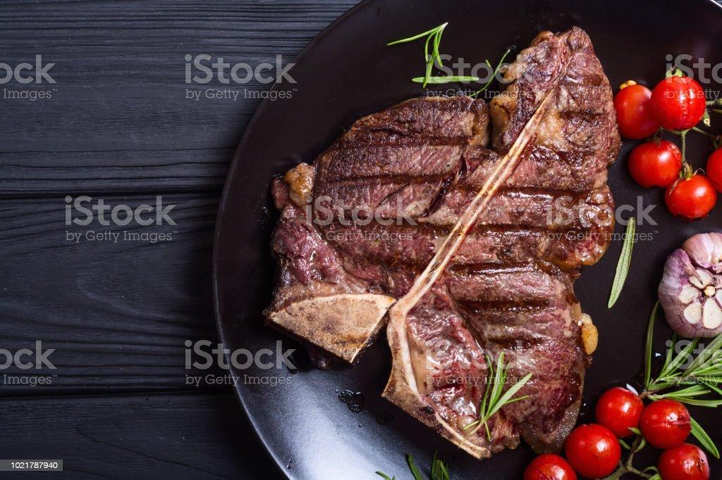 Bifteck d'aloyau grillé - Photo