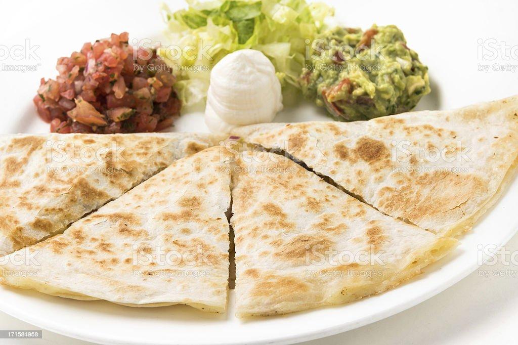 Grilled Quesadilla stock photo