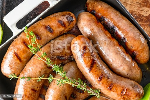 Grilled Italian Sausage