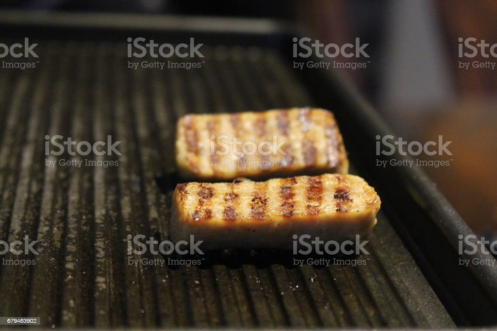 Grilled sausage royalty-free stock photo