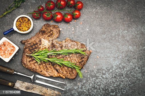 916096852 istock photo Grilled Steak 1157554098