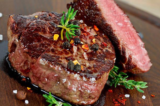 Gegrilltes steak – Foto