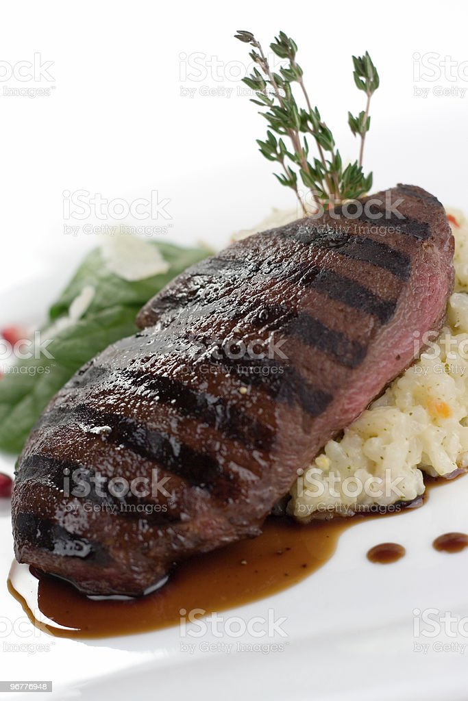 Grilled to Order royalty-free stock photo