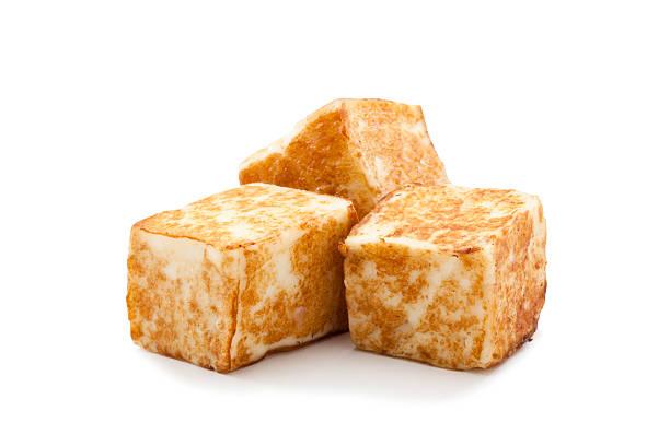 grilled tofu - vleesvervanger stockfoto's en -beelden
