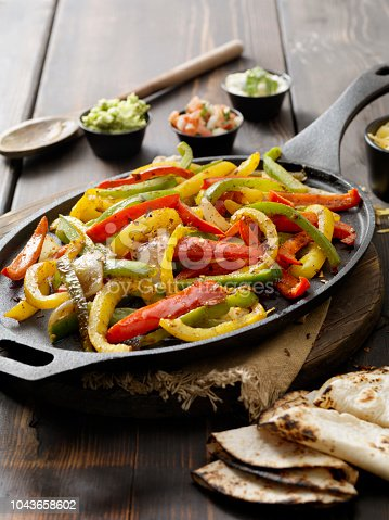 Grilled Vegetable Fajita Platter