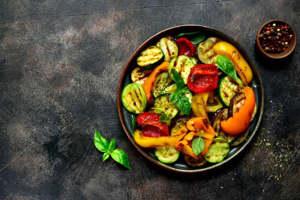 Gegrilltes Gemüse  – Foto